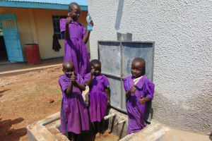 The Water Project: Munyanza Primary School -  Flowing Water