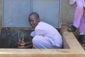 The Water Project: Mayoni Township Primary School -  Flowing Water