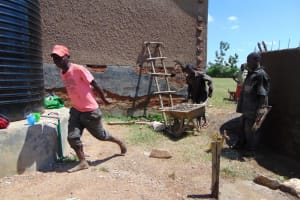 The Water Project: Ibwali Primary School -  Teamwork Makes The Dream Work