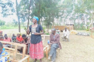The Water Project: Munenga Community, Burudi Spring -  Questions Came Flying