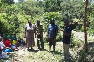 The Water Project: Malava Community, Ndevera Spring -  Training