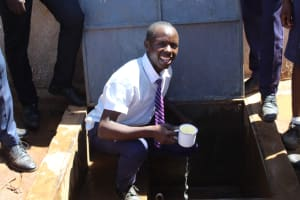 The Water Project: Musasa Secondary School -  Ready For A Drink