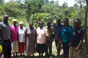 The Water Project: Malava Community, Ndevera Spring -  Committee Leadership