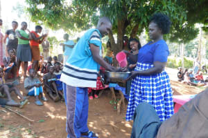 The Water Project: Shisere Community, Francis Atema Spring -  Handwashing Training