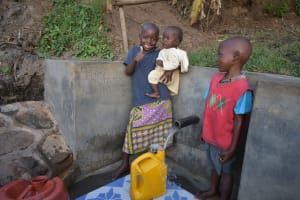 The Water Project: Munenga Community, Burudi Spring -  All Ages Love Clean Water