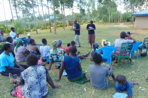 The Water Project: Sichinji Community, Makhatse Spring -  Training