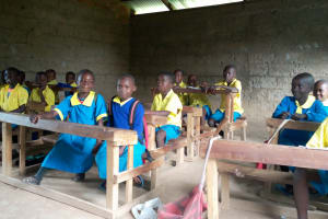 The Water Project: Musasa Primary School -  Kenya Say Cheese
