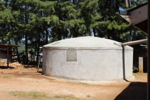 The Water Project: Musasa Secondary School -  Completed Tank