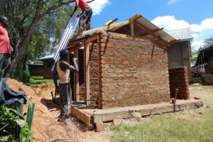 The Water Project: Ibwali Primary School -  Adding Latrine Rood