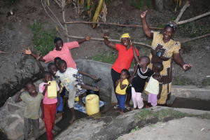 The Water Project: Munenga Community, Burudi Spring -  Celebrating The New Spring
