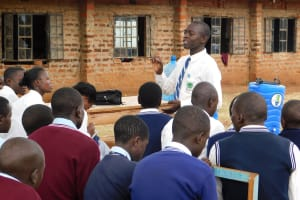The Water Project: Immaculate Heart Secondary School -  Training