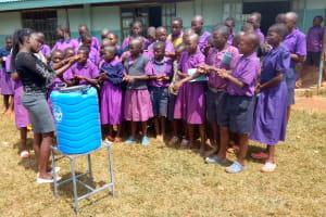 The Water Project: Munyanza Primary School -  Handwashing Training