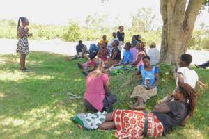 The Water Project: Eshiakhulo Community, Asman Sumba Spring -  Dental Hygiene Training
