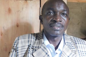 The Water Project: Kapchorwa Primary School -  Headteacher Mr Amatsimbi Ababu
