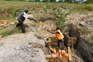 The Water Project: Shihingo Community, Mangweli Spring -  Teamwork Toss