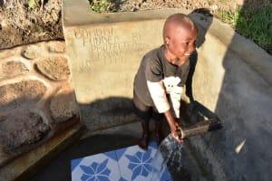 The Water Project: Munenga Community, Burudi Spring -  Feeling The Rush