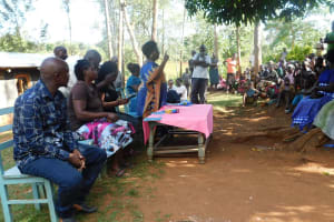 The Water Project: Shisere Community, Francis Atema Spring -  Training