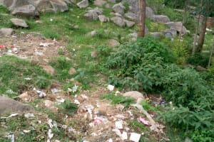 The Water Project: Musasa Primary School -  Kenya Trash Dump Site