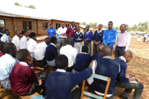 The Water Project: Immaculate Heart Secondary School -  Elected Leadership For The Ctc Club