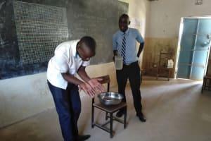 The Water Project: Nambilima Secondary School -  Handwashing Training