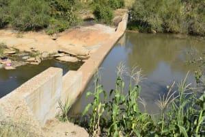 The Water Project: Katung'uli Community B -  Dam