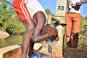 The Water Project: Katung'uli Community C -  Reliable Water