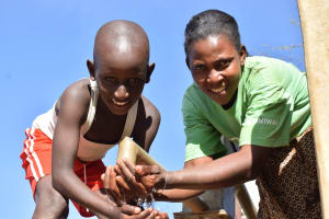 The Water Project: Katung'uli Community C -  Smiles For Reliable Water