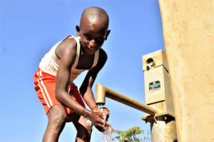 The Water Project: Katung'uli Community B -  Water