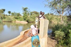The Water Project: Katung'uli Community B -  Well