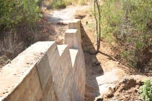The Water Project: Kathamba Ngii Community -  Complete Dam