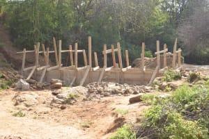 The Water Project: Kathamba Ngii Community -  Dam Construction