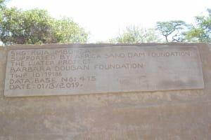 The Water Project: Kathamba Ngii Community -  Sand Dam Dedication