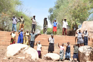The Water Project: Kithoni Community -  Complete Sand Dam