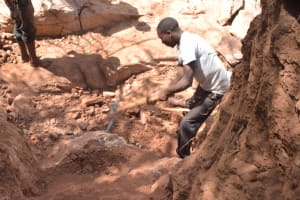 The Water Project: Kithoni Community -  Dam Construction Phase One