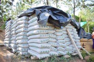 The Water Project: Ivumbu Community -  Cement Bags