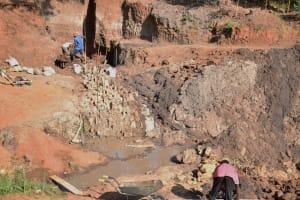 The Water Project: Ivumbu Community -  Dam Progress