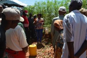 The Water Project: Ivumbu Community -  Tippy Tap Training