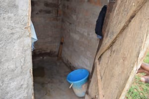 The Water Project: Kaketi Community -  Bathing Shelter