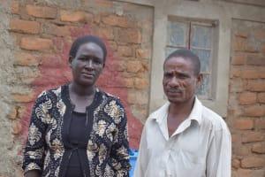 The Water Project: Kaketi Community -  Benson Muia And His Wife
