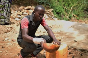 The Water Project: Kaketi Community -  Fetching Water
