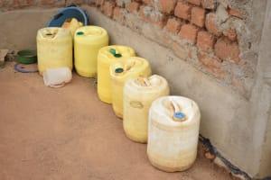 The Water Project: Kaketi Community -  Water Storage