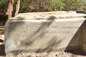 The Water Project: Kathamba Ngii Community A -  Well Dedication