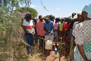 The Water Project: Kithoni Community A -  Tippy Tap Making