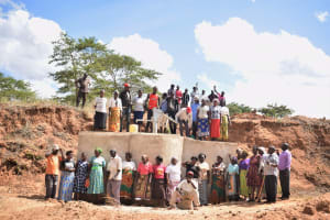 The Water Project: Muluti Community A -  Celebrating Complete Well