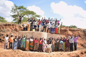 The Water Project: Muluti Community A -  Celebrating The Completed Well