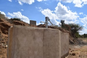 The Water Project: Muluti Community A -  Completed Well