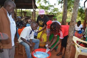 The Water Project: Muluti Community A -  Soapmaking