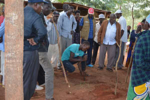 The Water Project: Muluti Community A -  Tippy Tap Construction
