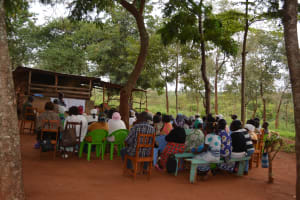 The Water Project: Muluti Community A -  Training Day Two