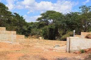 The Water Project: Muluti Community A -  Well And Sand Dam